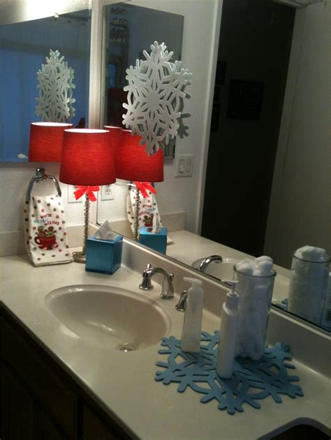 amazing christmas bathroom decoration ideas feed