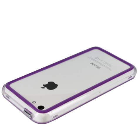 purple iphone 5c genx bumper for apple iphone 5c purple