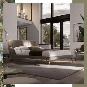 Natuzzi - Contemporary Sofas  Svevo Bed Is A Perfect Example Of The C