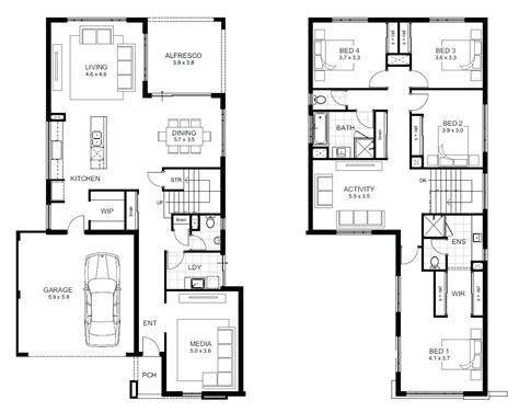 floor plans for two homes 5 bedroom 2 house plans best 25 cabin floor plans