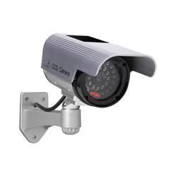 interior home surveillance cameras shop sunforce solar interior exterior simulated security at lowes com