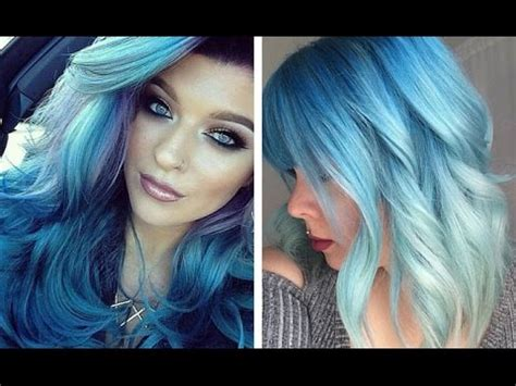 Light Skin With Blue by Grow Light Blue Hair Get Pale Skin Blue Fast