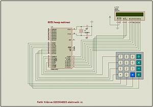 8051 Calculator Circuit