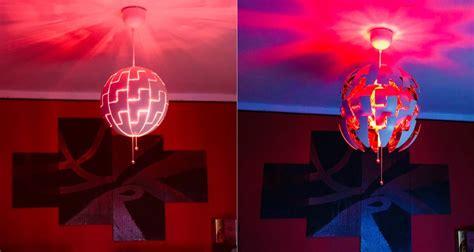 schnell und einfach ikea ps  mit hue lampe aufwerten