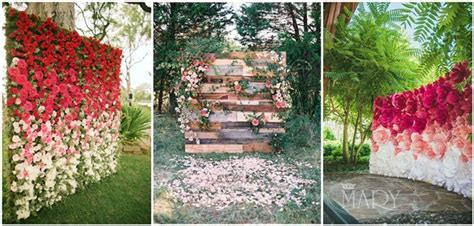 22 Trending Flower Wall Backdrops for Your Wedding Day!   Page 2