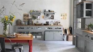 une deco de style campagne dans la cuisine With deco campagne chic cuisine