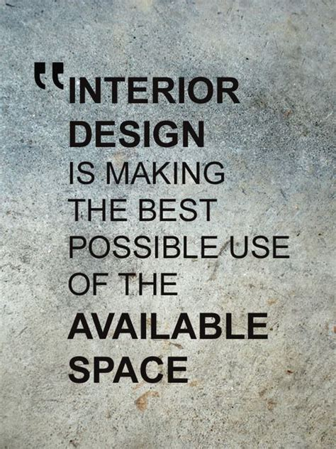 21 best Interior Design Quotes images on Pinterest
