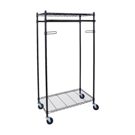 heavy duty clothes rack heavy duty garment rack walmart