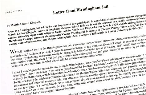 jail letter from birmingham liana best free home