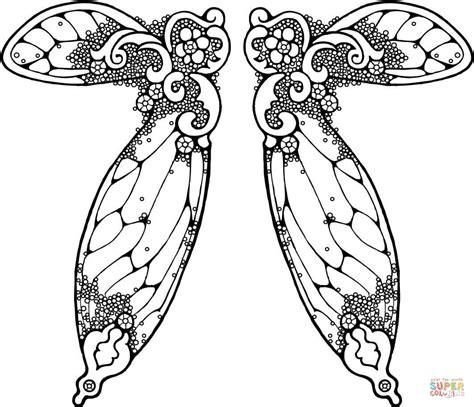 Engelenvleugels Kleurplaat by Wings Illustration Coloring Page Free Printable