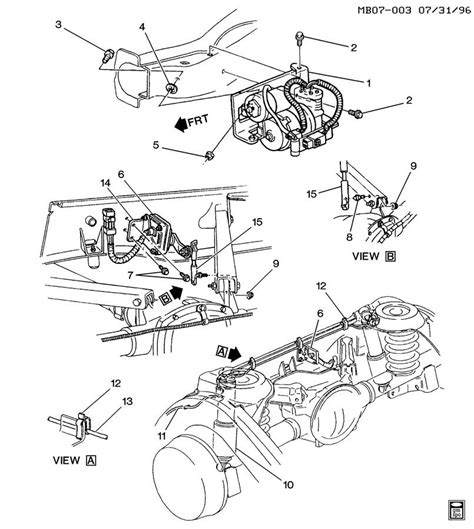 1988 Club Car Part Diagram by 19178430 Gm Absorber Shock Absorber Air Lift