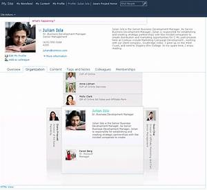 Organization Browser Web Part How To Display Employee 39 S