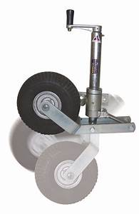 Retractable Jockey Wheels