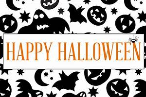 Happy Halloween Printable Signs – Festival Collections