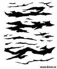 Printable Tiger Stripe Camo Patterns Stencils