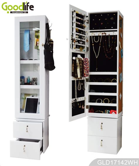 cabinet names and functions rotating mirror storage cabinet with drawer and photo wall
