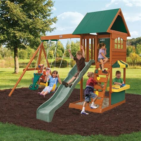 Big Backyard By Solowave by Big Backyard By Solowave 174 Augusta Ii Outdoor Play Centre