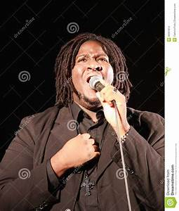 Gospel Singer Editorial Stock Image