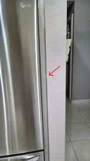 prevent  refrigerator door  hitting
