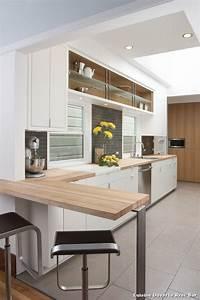 cuisine ouverte avec bar sur salon maison design bahbecom With cuisine avec bar ouvert sur salon
