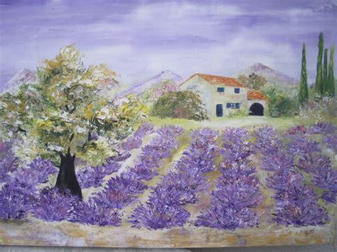 ma passion la peinture paysage provencal