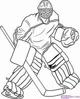 Hockey Coloring Pages Printable Gear Youth Sheets Birthday sketch template