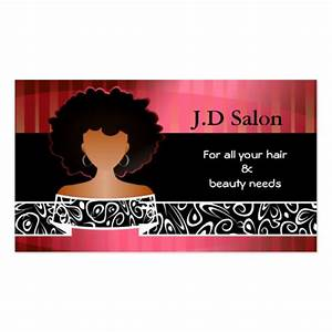 Hair salon businesscards double sided standard business for Hair salon business card template