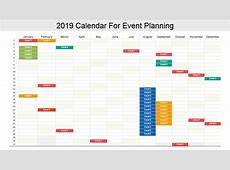 2019 Calendar 13 PowerPoint Calendar Templates The
