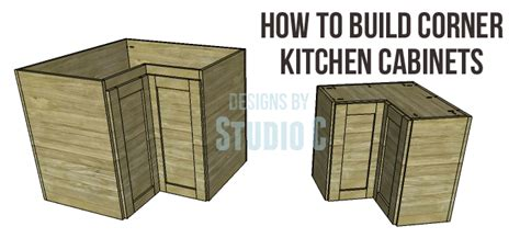 how to build a corner kitchen cabinet corner kitchen cabinet plans 9287