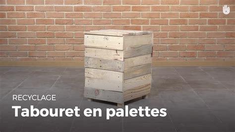 Fabriquer Un Tabouret En Bois by Fabriquer Des Meubles Avec Des Palettes En Bois Recycl 233 Es