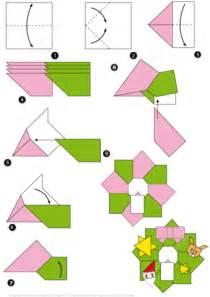 origami christmas wreath tutorial  printable