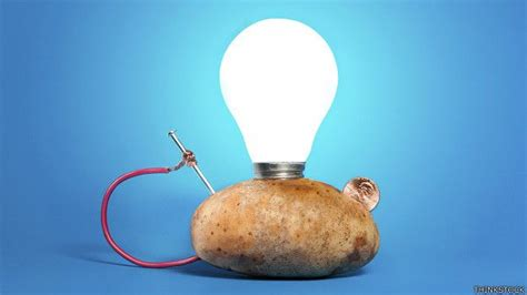 now a potato will burn your bulb for 40 days the