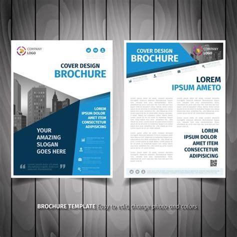 business brochure flyer design   vector art