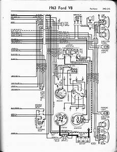 1963 Ford Pickup Electrical Schematic
