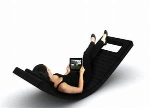 Modern and Futuristic Rocking Chair Design Gallery Home