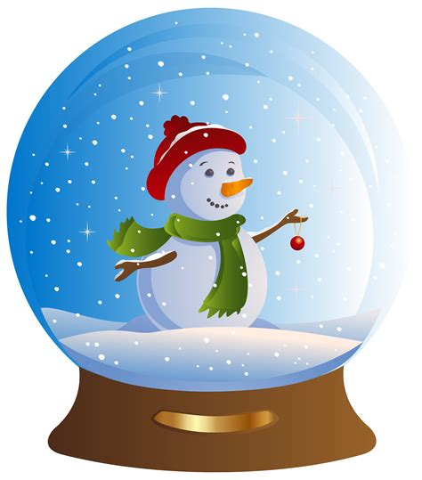 snowman clipart scene snowman scene transparent