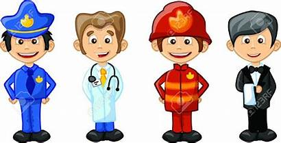 Clipart Profession Professions Career Cliparts Different Clip