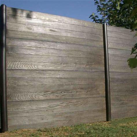 Plaque Beton Imitation Bois 1219 by Cl 244 Ture 224 Lames Ou Panneaux En B 233 Ton Imitation