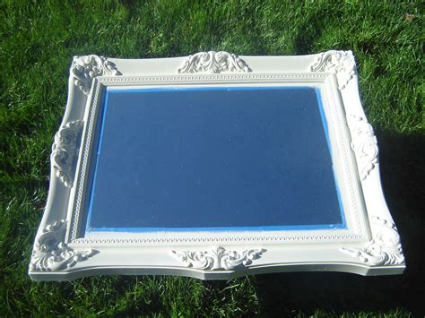 how to paint mirror frame roadside trash to treasure mirror frame painting