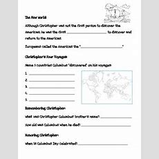 Christopher Columbus Internet Scavenger Hunt By 2nd To None Teaching Resources