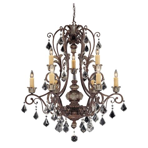 9 light chandelier savoy house elizabeth 9 light chandelier tortoise shell