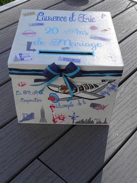 boite pour cagnotte anniversaire le mariage