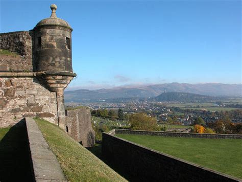 stirling castle outer defences feature page