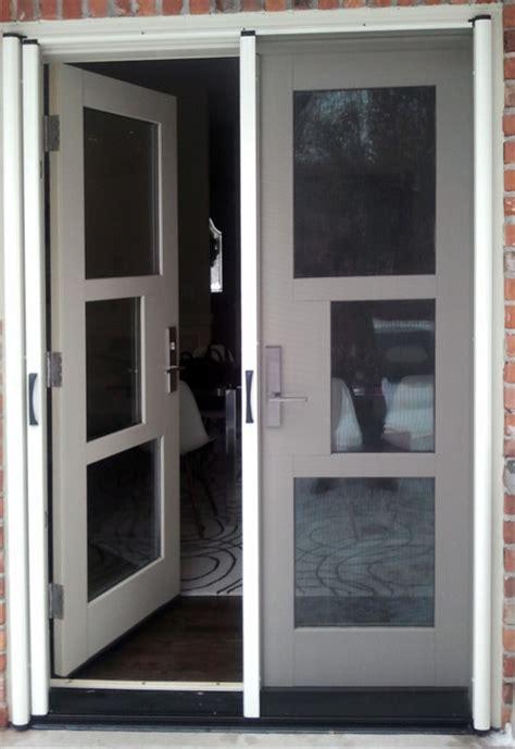 french door retractable screen contemporary screen doors toronto  invisible screens canada