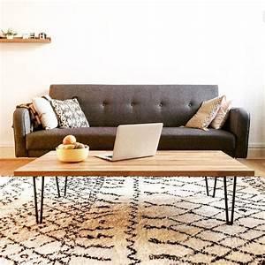 Table Pied Epingle : 17 meilleures id es propos de table basse bois brut sur ~ Edinachiropracticcenter.com Idées de Décoration