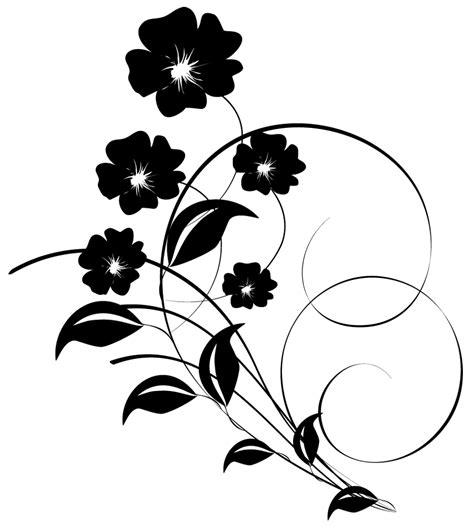 cuisine blanc et noir stickers fleur pas cher