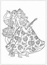 Coloring Barbie Pages Princess Popstar Star Colouring Printable Pop Party Rock Royals Birthday Disney Company Google Dinokids Coloriage Stars Sheets sketch template