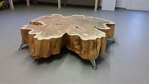 Tisch Aus Holzscheiben : genial holzscheibe tisch bauideen table home decor und decor ~ Cokemachineaccidents.com Haus und Dekorationen