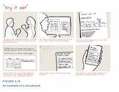1000 images about ux storyboards on pinterest With magazine storyboard template