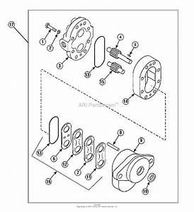 Simplicity 1692932 - Loader  Front End Parts Diagram For Service Parts
